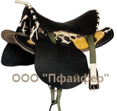 Кавалерийское седло комбинированное без потника
